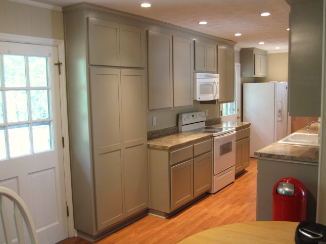 After renovation of 1970 s galley kitchen carey 39 s for Galley kitchen remodel before and after