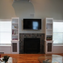 Custom Bookcases Project