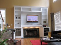 Custom Entertainment Center #2
