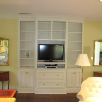 Custom Entertainment Center #1