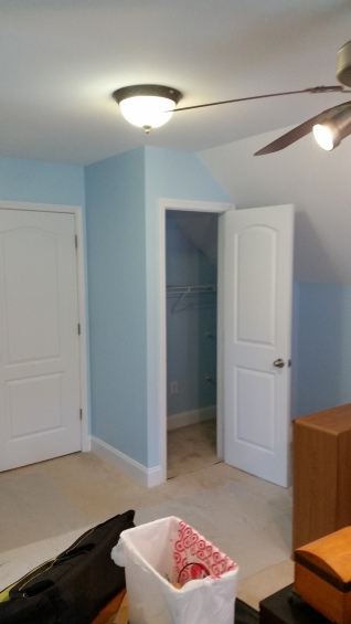 After - Added closet to bonus room to turn into bedroom.