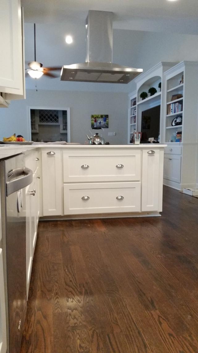 After Custom Kitchen Cabinet Remodel - Kitchen #1