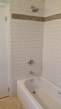 New Tub and Subway Tile