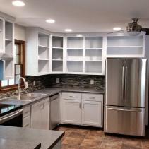 Custom Kitchen Cabinet Remodel - Kitchen #1
